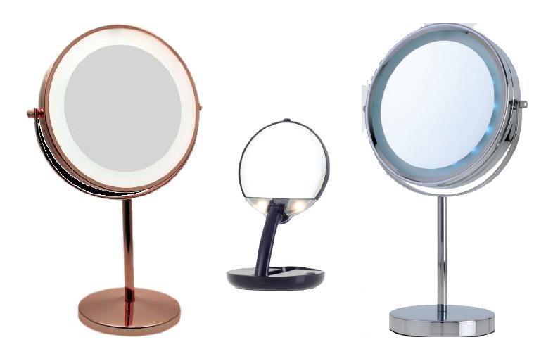Espejos de tocador y bolso de calidad para maquillaje y make up - Espejos de tocador con luz ...